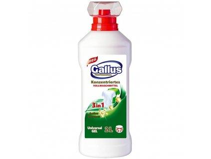 GALLUS, Prací gel 3v1, UNIVERZAL, 2L, 57 dávek