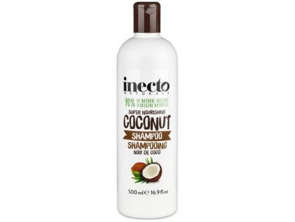 289949 inecto naturals vyzivujici sampon s cistym kokosovym olejem 500 ml