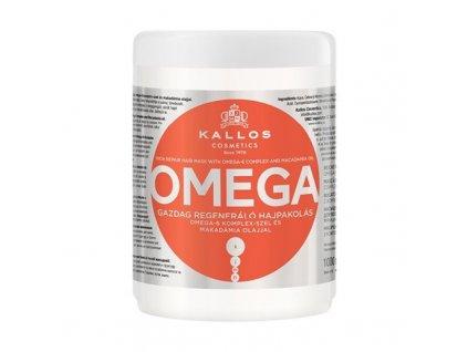 290015 kallos omega regeneracni maska na vlasy s omega 6 komplexem a makadamia olejem omega hair mask 1000 ml