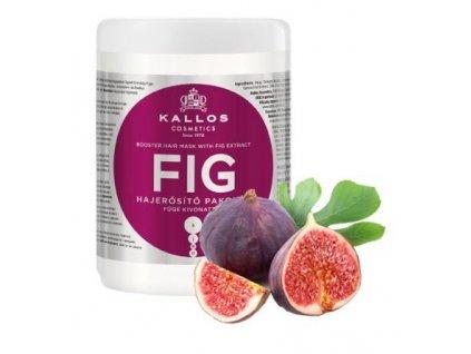 290021 kallos fig maska pro oslabene vlasy a roztrepene konecky 1000 ml