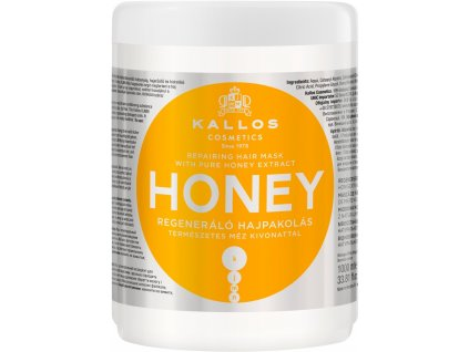290042 kallos honey intenzivni hydratacni maska pro suche a poskozene vlasy 1000 ml