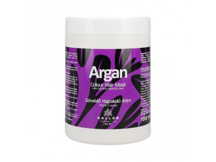 290066 kallos argan maska pro barvene vlasy 1000 ml