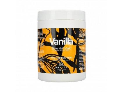 290075 kallos vanilla vyzivujici maska pro suche vlasy s vytazkem z vanilky 1000 ml