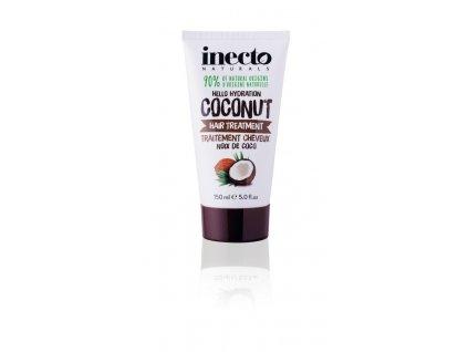 290078 inecto naturals maska na vlasy s cistym kokosovym olejem hair treatment 150 ml