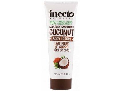 290114 inecto naturals telove mleko s cistym kokosovym olejem 250 ml
