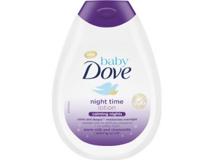 292469 dove telove mleko pro deti s vuni hermanku calming nights baby night time lotion 400 ml