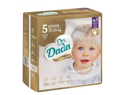 DADA Extra Care, jednorázové pleny, vel.:5, 15-25kg, 28ks