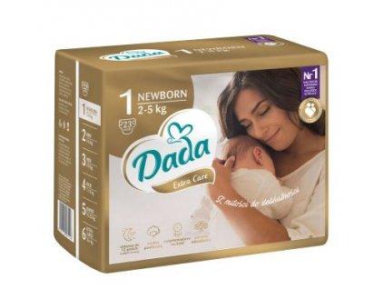 DADA Extra Care, jednorázové pleny, vel.:1, 2-5kg 23ks