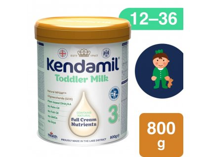 Kendamil, Batolecí mléko 3 DHA (800g)