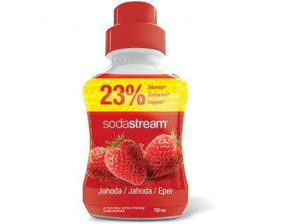 4689 sodastream sirup jahoda 750ml