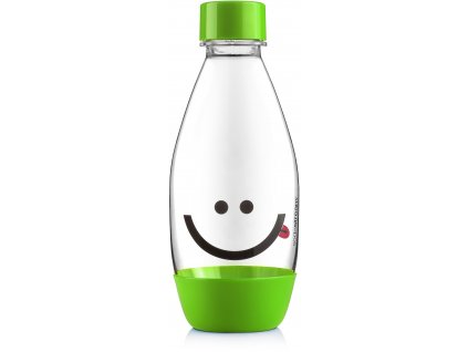 4743 sodastream lahev detska smile green 500ml