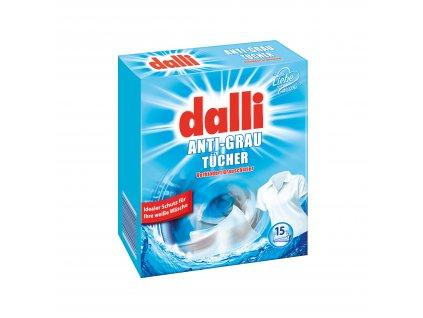 Dalli ubrousky proti zapírání bílého prádla 15 ks
