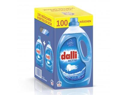 Dalli Activ univerzální prací gel 2x 2,75l, 2x50 PD, výhodné balení