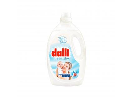 Dalli Sensitiv gel na praní pro citlivou pokožku 50 dávek, 2,75 l
