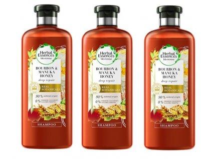 2136 3 pack herbal essences sampon manukovy med 400 ml