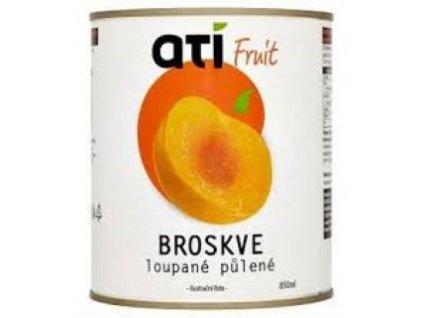 4359 ati fruit broskve loupane pulene 850ml