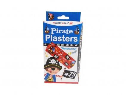 Masterplast dětská náplast pirát 75ks