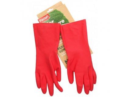 Paclan For Nature - EKO Gumové rukavice velikost M z kaučuku z FSC plantáží - 1 pár