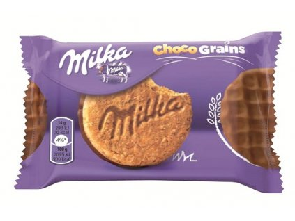 Milka biscuits choco grains 42g