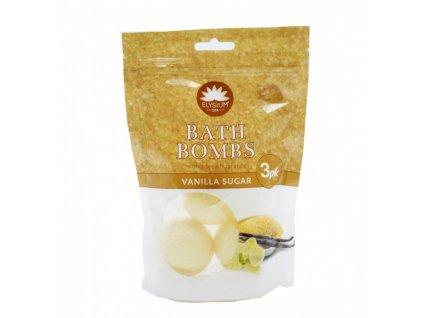 elysium spa sumive bomby do koupele 3 ks vanilla sugar