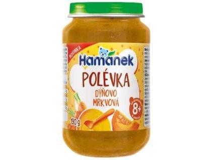 HAMÁNEK dýňovo mrkvová polévka 190 g