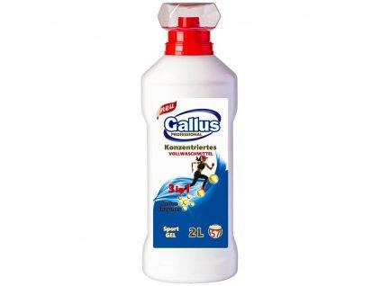 GALLUS, Prací gel 3v1, SPORT, 2L, 57 dávek