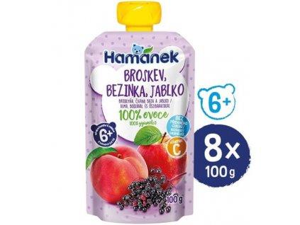 Hamánek Broskev bezinka jablko 100 g