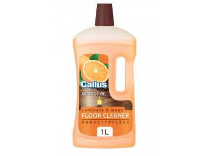 Gallus čistič laminátových a dřevěných podlah 1l