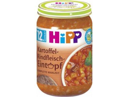 34915 hipp detske menu brambor hovezi zelenina eintopf 12m 250g