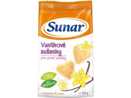 Sunárek vanilkové sušenky 175g  (B10)