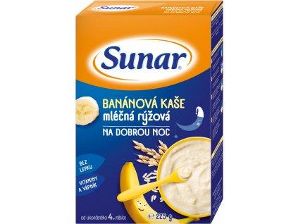 sunar mlecna ryzova kase na dobrou noc bananova