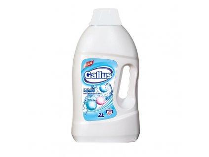 GALLUS, Prací gel, WHITE, 2L, 47 dávek
