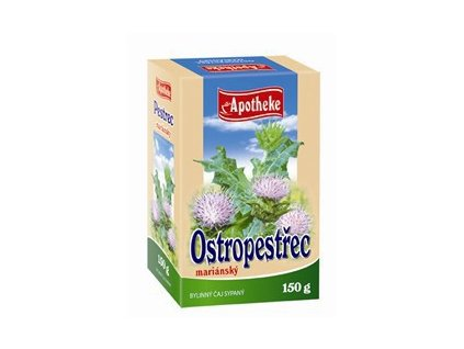 68645 apotheke caj ostropestrec mariansky plod sypany 150g