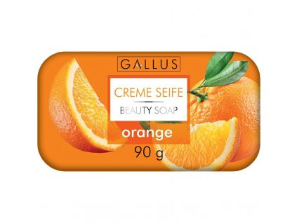 GALLUS, Krémové mýdlo, POMERANČ, 90g