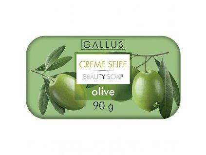 GALLUS, Krémové mýdlo, OLIVA, 90g