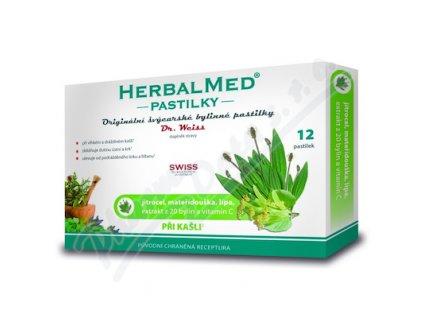 98882 dr weiss herbalmed pri kasli 12 pastilek