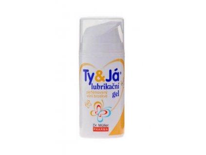 dr muller ty ja lubrikacni parfemovany gel vuni broskve 100 ml