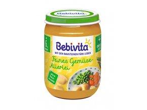 BEBIVITA, Jemná zelenina, 6M, 190g