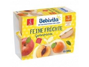 BEBIVITA, Ovocná pauza (zahradní ovoce) 4x100g