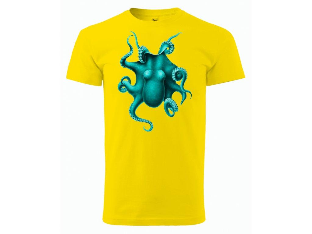 chobotnice zluta