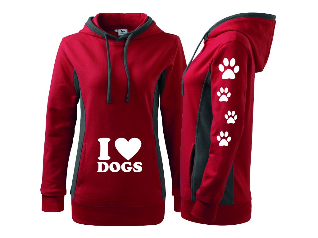 Dogs cervena