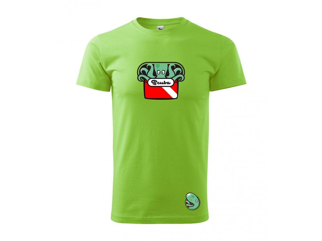 triko chobotnice s vlajkou apple