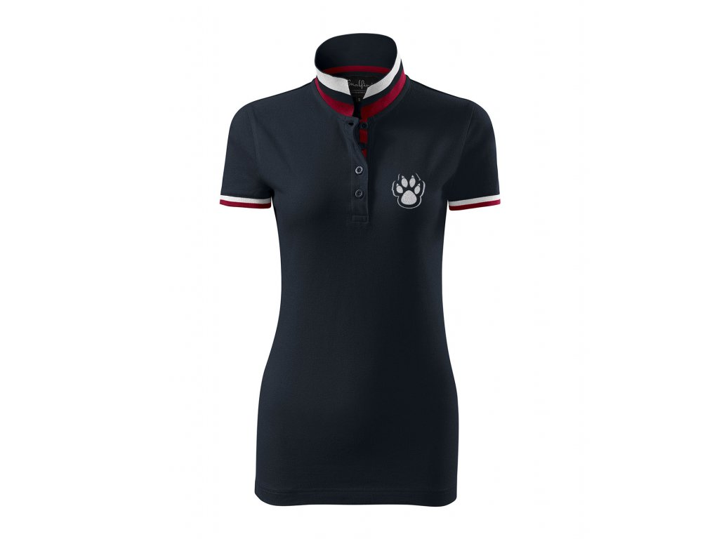 damske polo se stojackem new daddies packa navy