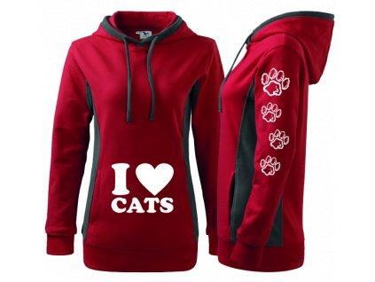 Cats cervena