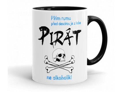 hrnecek pirat cerna