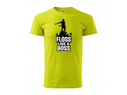 floss like a boss daddies tricko limeta