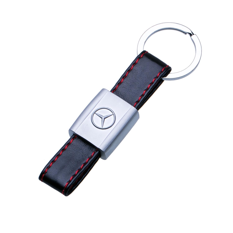 Kľúčenka s červeným prešitím