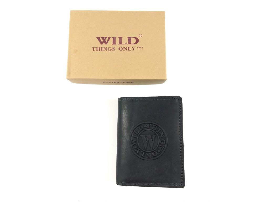 Kvalitní kožená peněženka Wild (Barva hnědá)