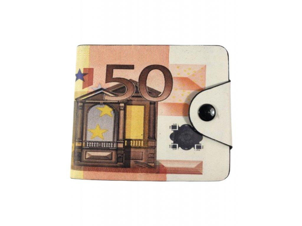 Peněženka s motivem bankovky - 50€