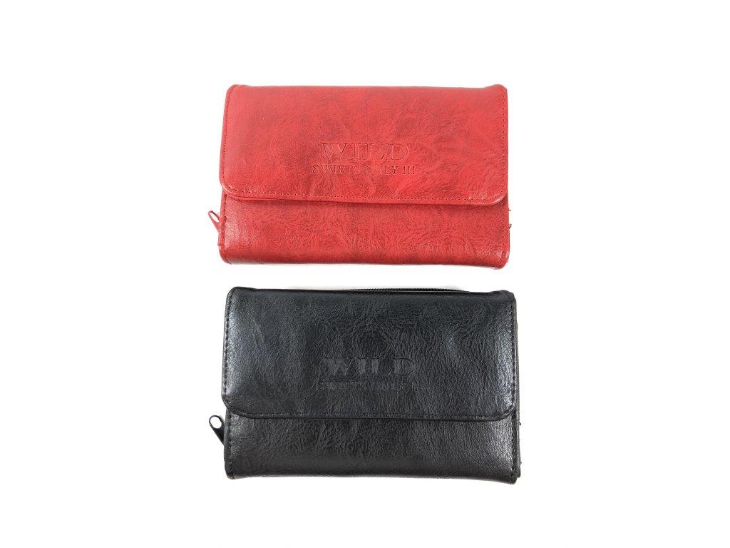 Dámská peněženka Wild (Barva černá)